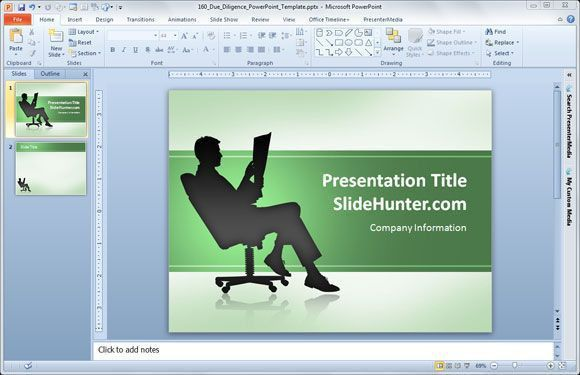 Free Due Diligence PowerPoint Template - Free PowerPoint Templates ...
