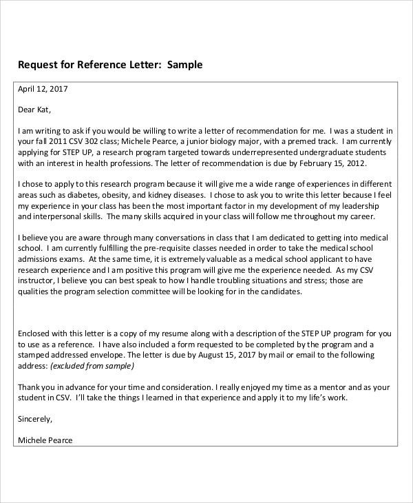 8+ Sample Reference Thank-You Letters - Free Sample, Example ...