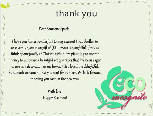 Thank You Card: Creations Graphic Thank You Card For Boss ...