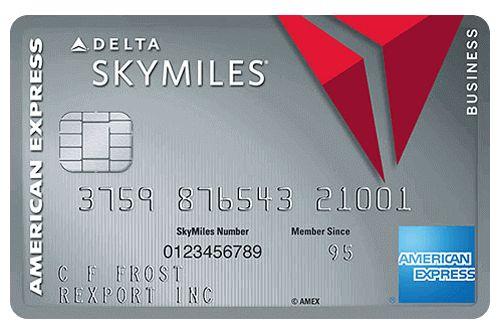Platinum Delta Skymiles Business Credit Card #9667