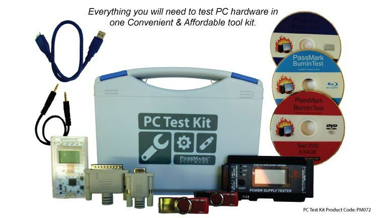 PassMark Software - PC Test Kit