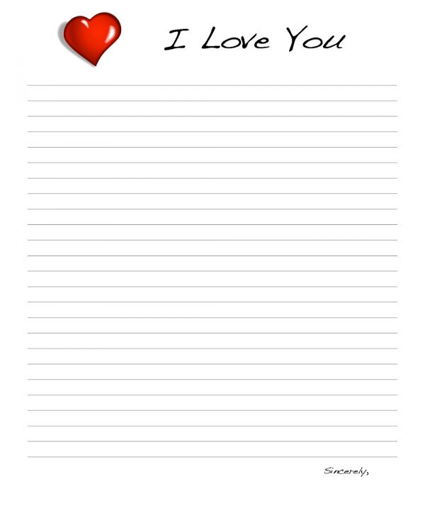 Best love templates – SampleLoveLetter.net