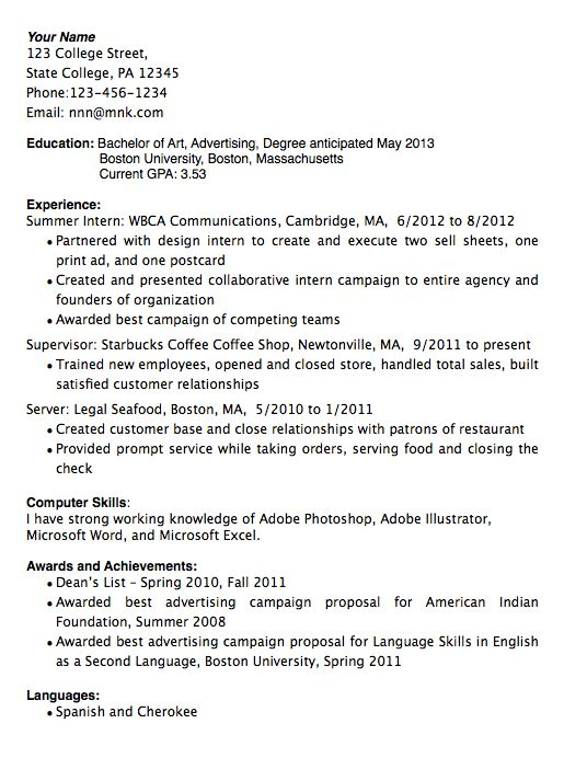 Business Writing: Resumes & Cover Letters | ESL Voices