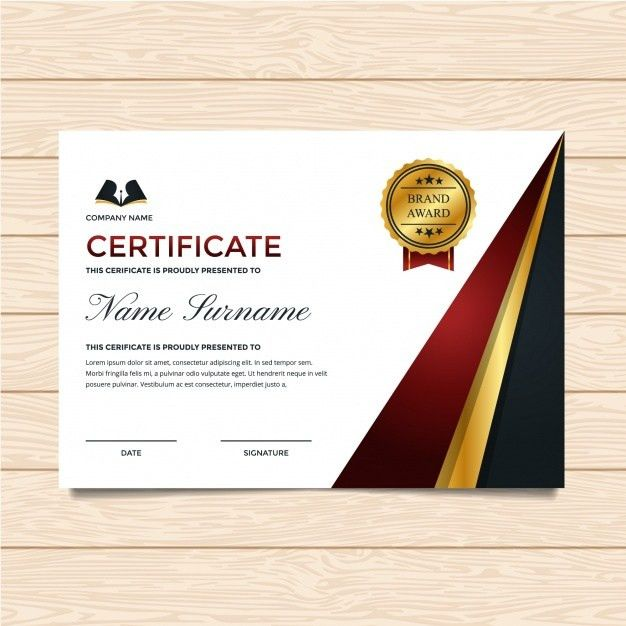 Luxury certificate template Vector | Free Download