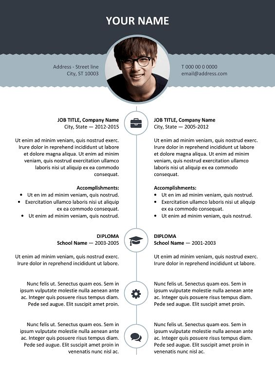 Esquilino - Modern Resume Template