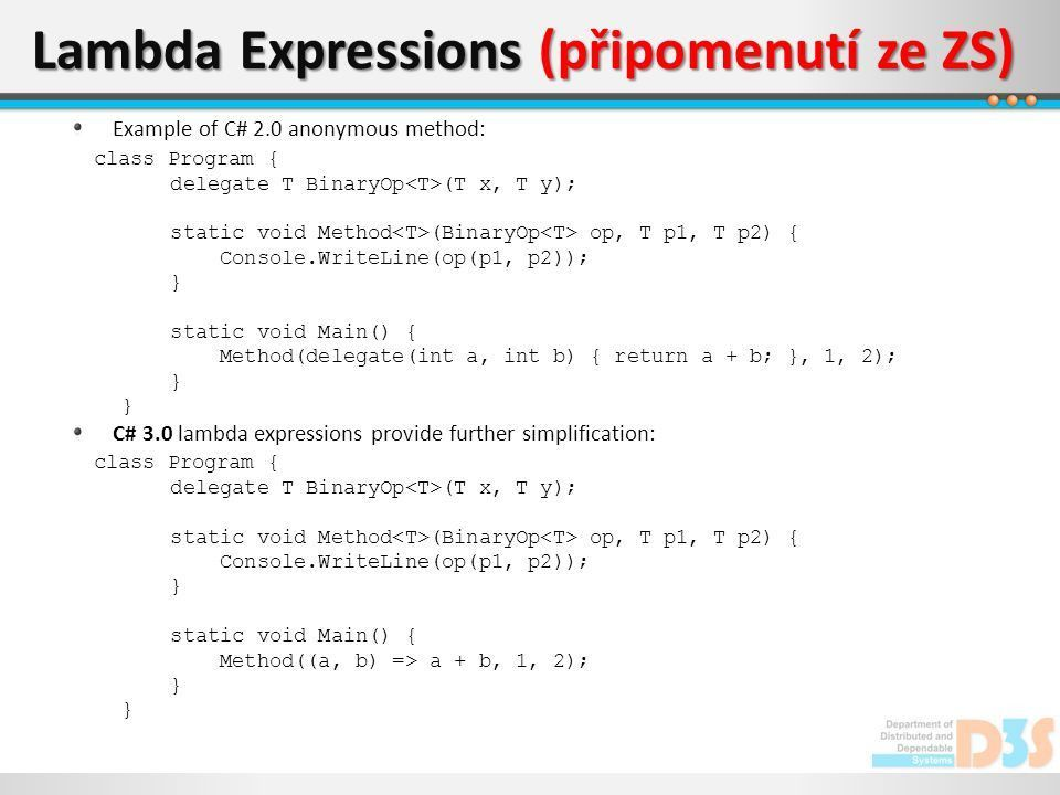 Advanced .NET Programming I 13th Lecture - ppt download
