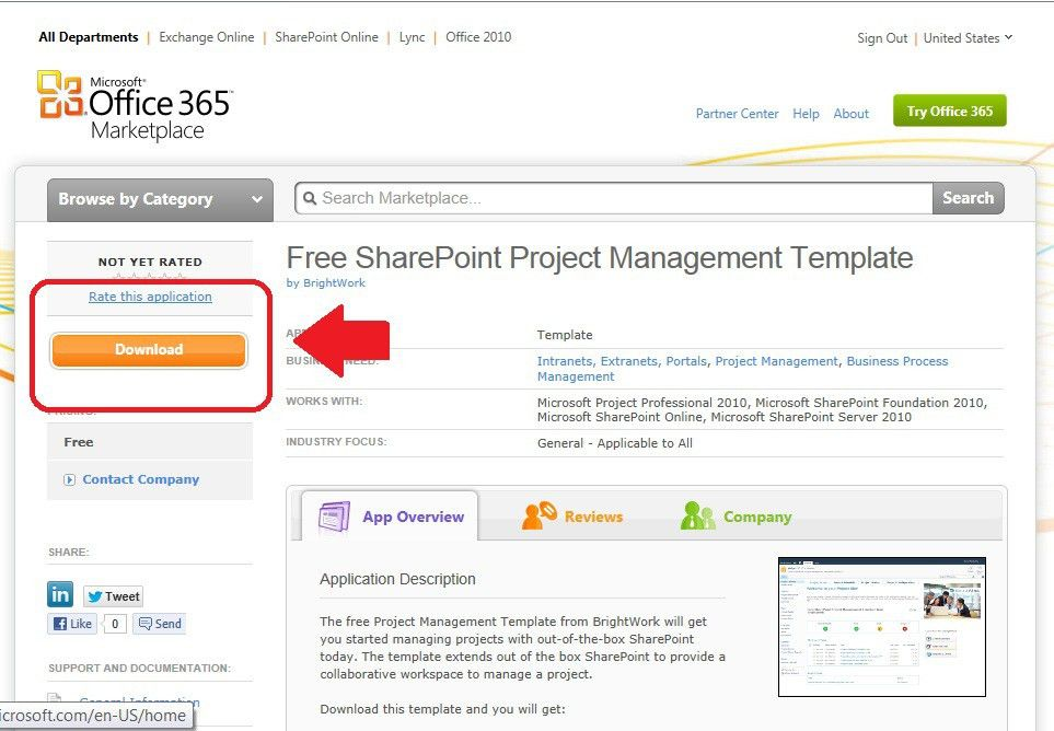 Free 2010 sharepoint templates rrsc.us