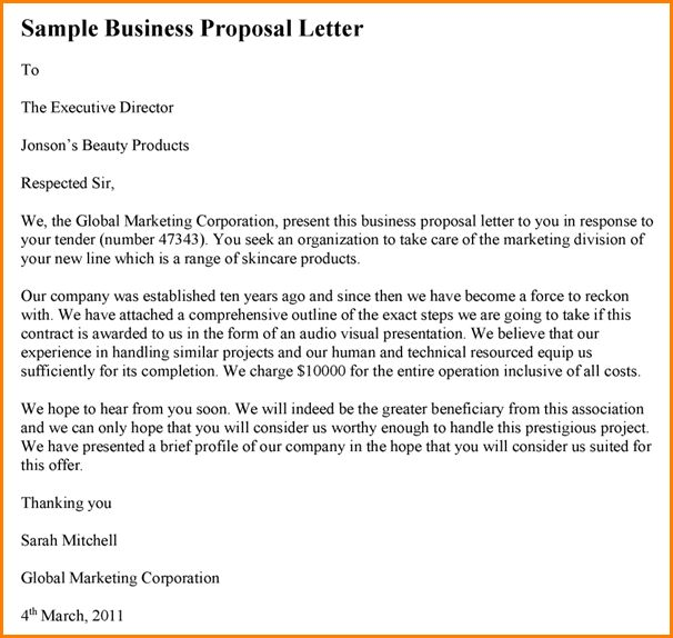 11+ sample business proposal | writable calendar