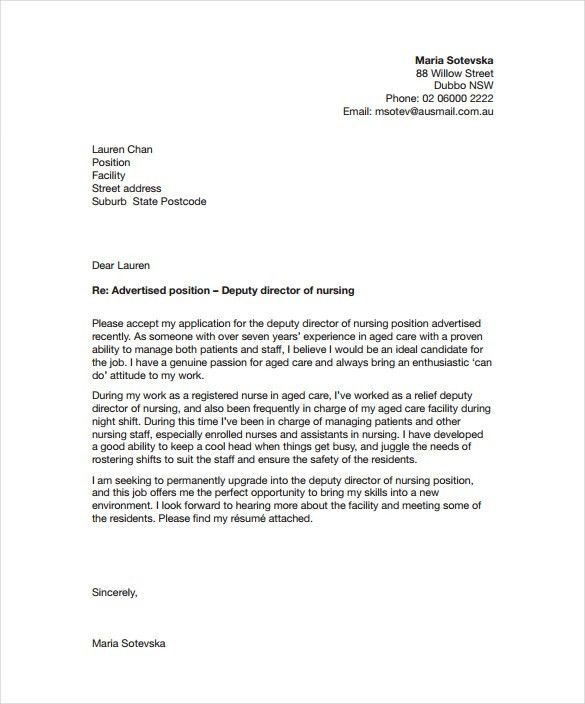 paediatric nurse cover letter in cover letter for nursing ...