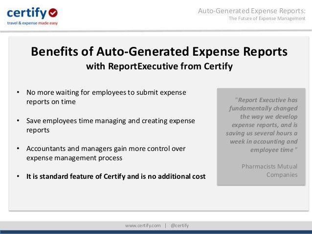 Auto-Generated Expense Reports: The Future of Expense Management