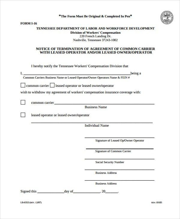 Sample Lease Termination Agreement Template. Office Rental ...