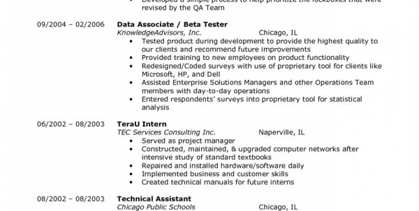 best ideas of quality assurance associate sample resume also ...