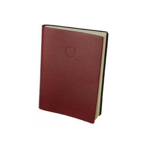 Eccolo Red Embossed Heart Writing Journal - Lined Pages   eBay