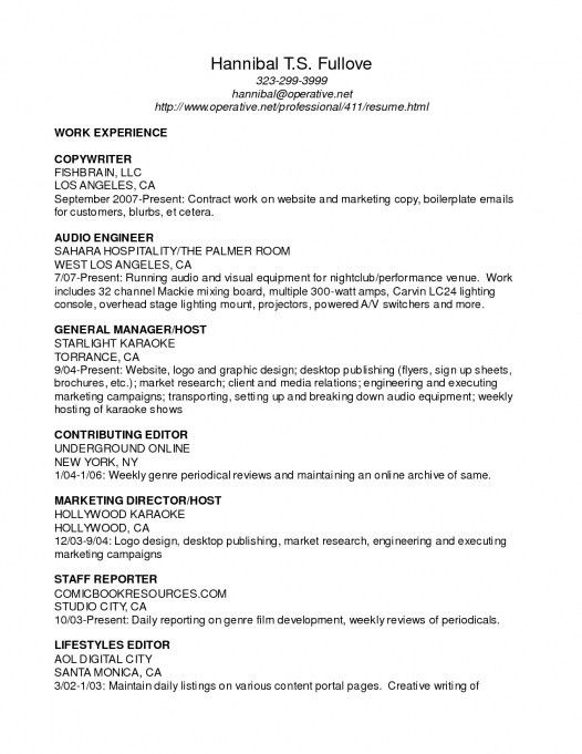 Visual Manager Cover Letter