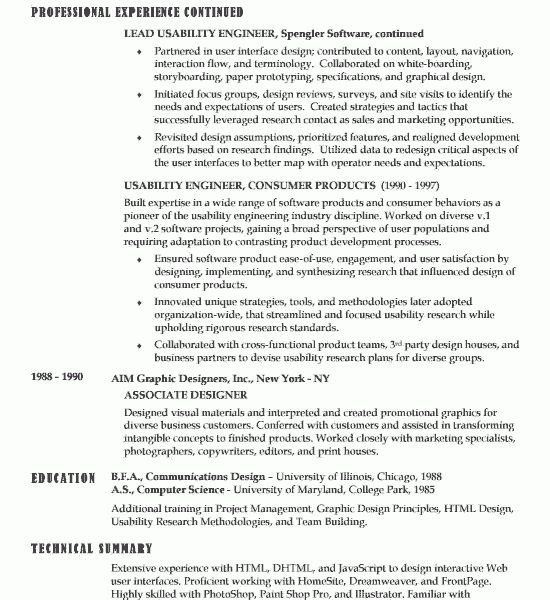 Surprising Ideas Sample It Resume 11 Software Developer Example ...