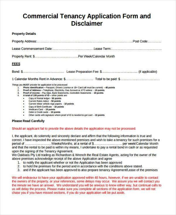 Sample Tenancy Agreement. Residential Tenancy Agreement Form Rent ...