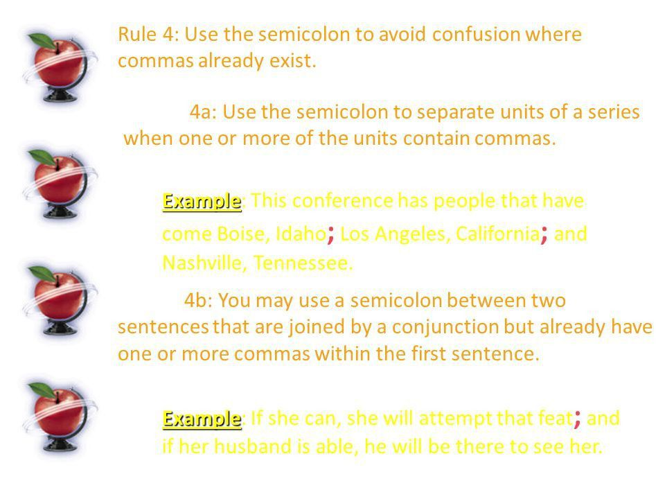 BELL RINGER 12/8 Each of the following sentences needs either a ...