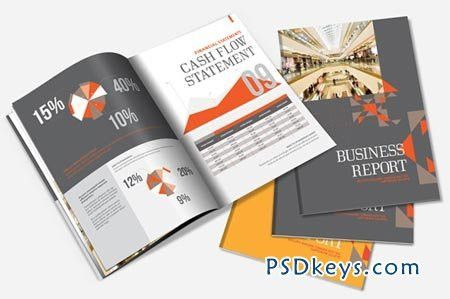 Annual Report Brochure Template 1467 » Free Download Photoshop ...