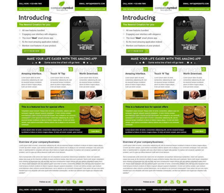 Free Email Newsletter Templates. awesome free e newsletter ...