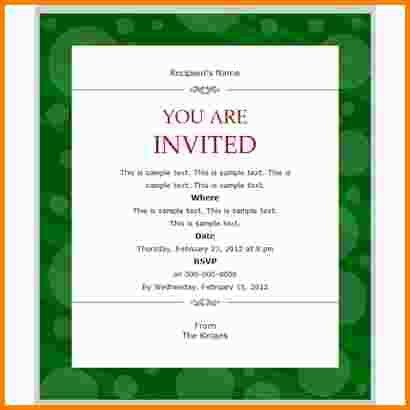 11+ email invitation templates | nypd resume