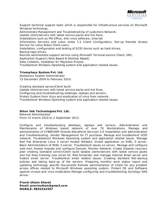 17+ Citrix Administrator Resume Sample | Construction ...