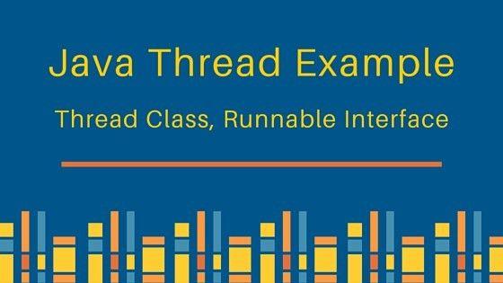 Java Thread Example - JournalDev