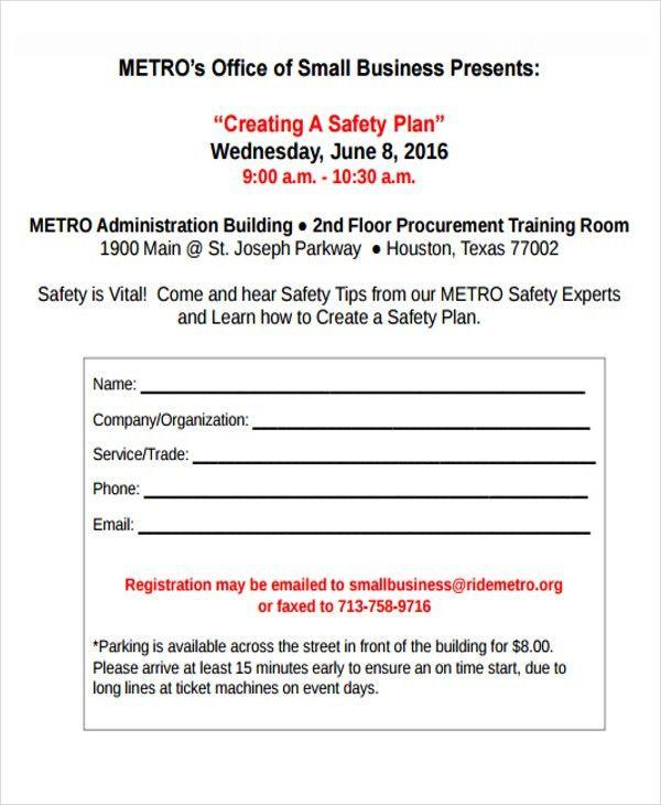 29+ Safety Plan Formats | Free & Premium Templates