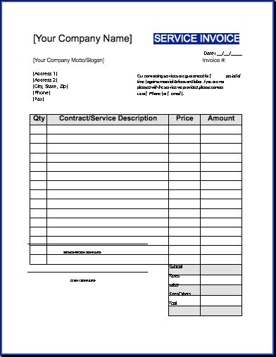 Uk Contractor Invoice Template Excel – somalilandpost.info