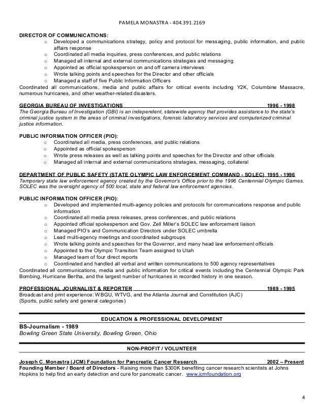 Monastra, pamela resume 082812