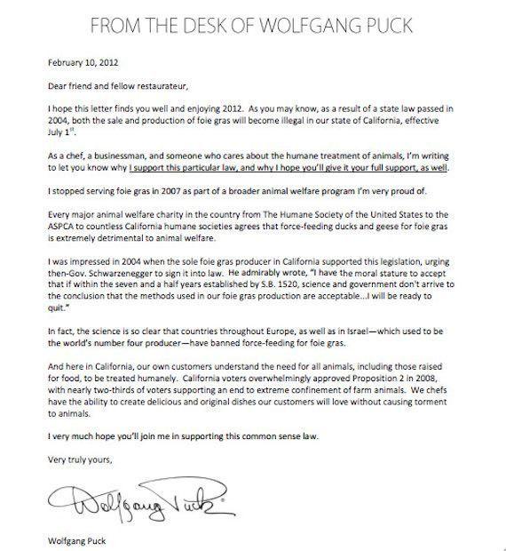 Wolfgang Puck Sends Letter To California Restaurants Still Serving ...