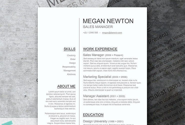 Free Classic Resume Templates