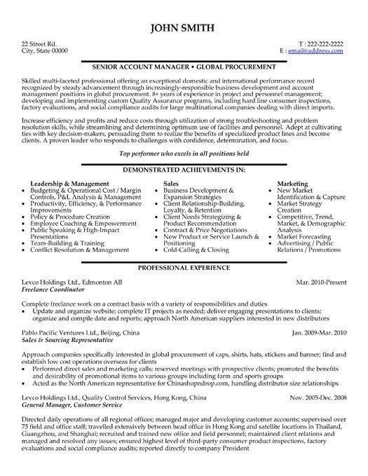 Freelance Resume Sample 20841 | Plgsa.org