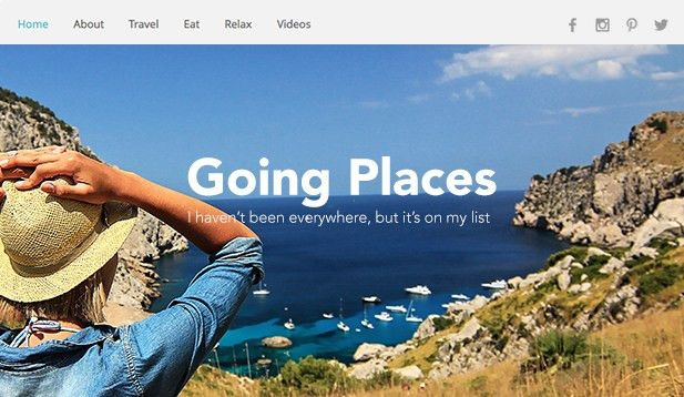 Travel & Tourism Website Templates | Accommodation | Wix