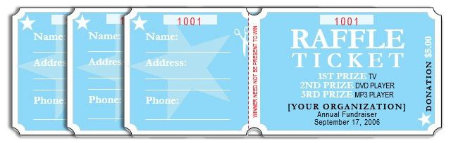 Raffle Ticket Template. Free Printable Raffle Ticket Template ...