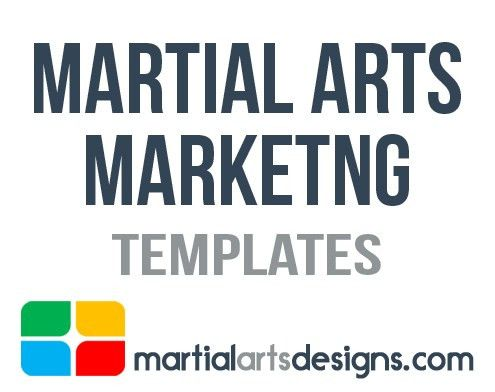 Martial Arts Flyers, Business Cards, Brochures, Door Hangers ...