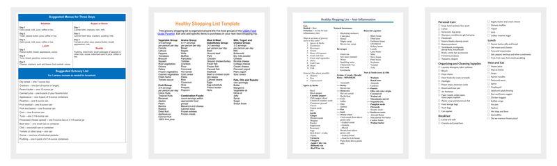 List Templates - Dotxes