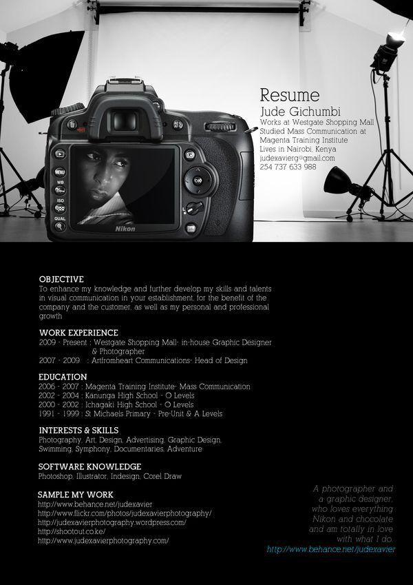 Photojournalist resume job description