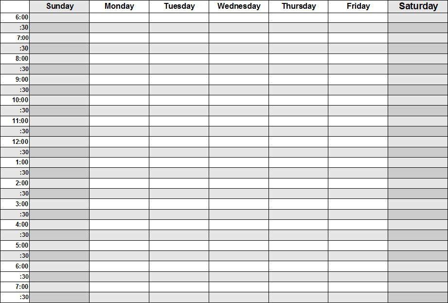 Agenda Template PDF