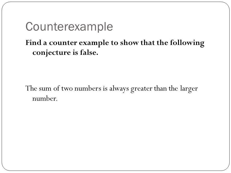Inductive and Deductive Reasoning. Notecard 30 Definition ...