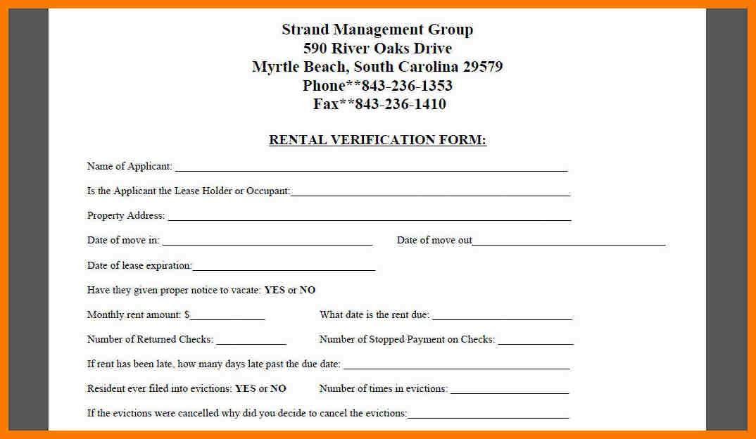 Verification Form. Employment Verification Release Form Template ...