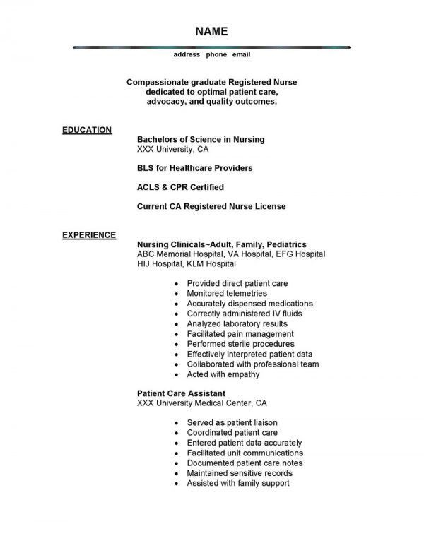 Fascinating Examples Of a Good Resume