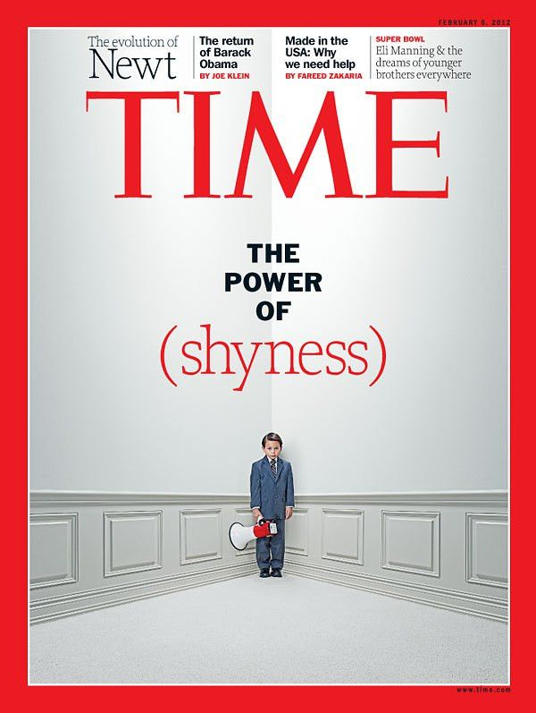 TIME Magazine Cover: The Power of Shyness - Feb. 6, 2012 - Babies ...