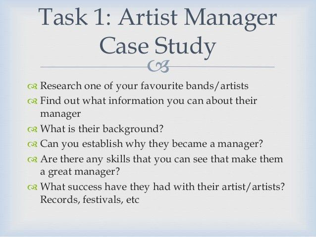 Music Business: Artist Management