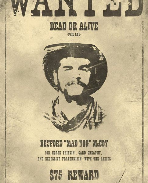 Cool Real Wanted Posters From The Old West And Brilliant Ideas Of ...
