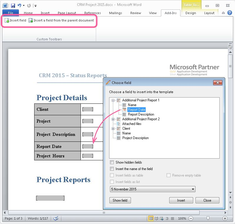 Working With Complex Documents in Word and FossLook