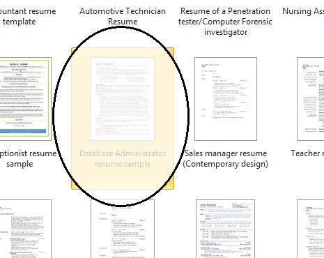 ms word resume templates on pinterest updated ms word resume ...