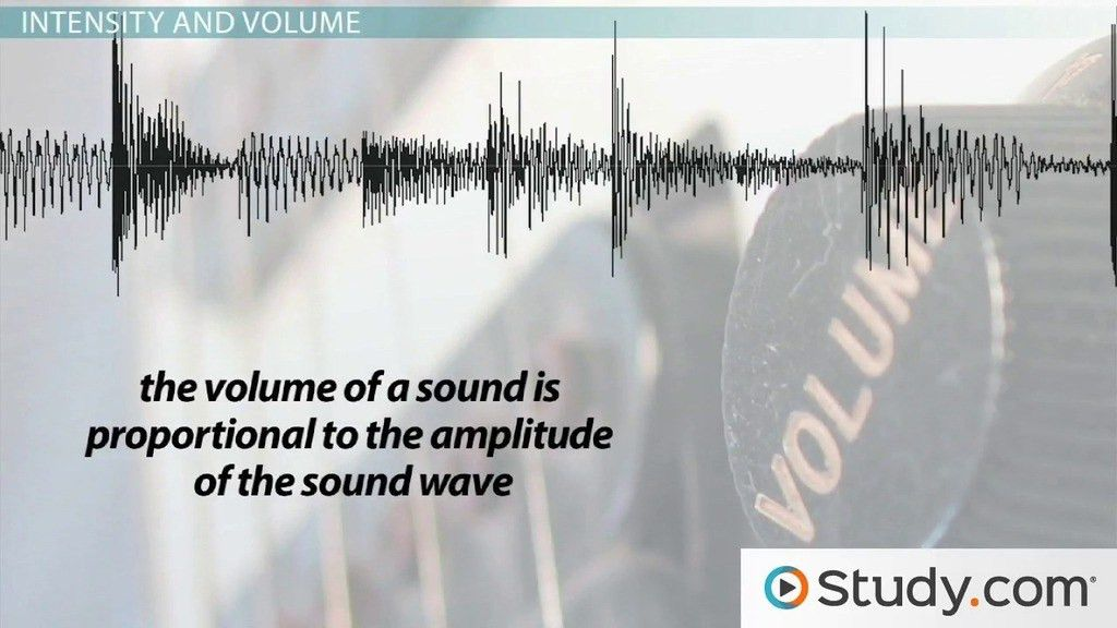 Pitch and Volume in Sound Waves - Video & Lesson Transcript ...