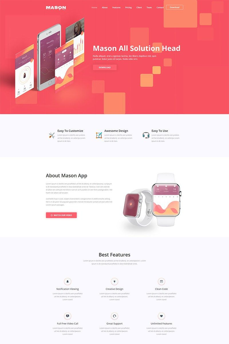 Landing Page Templates   Responsive Landing Pages