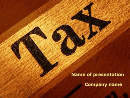 Tax Presentation Template for PowerPoint and Keynote | PPT Star