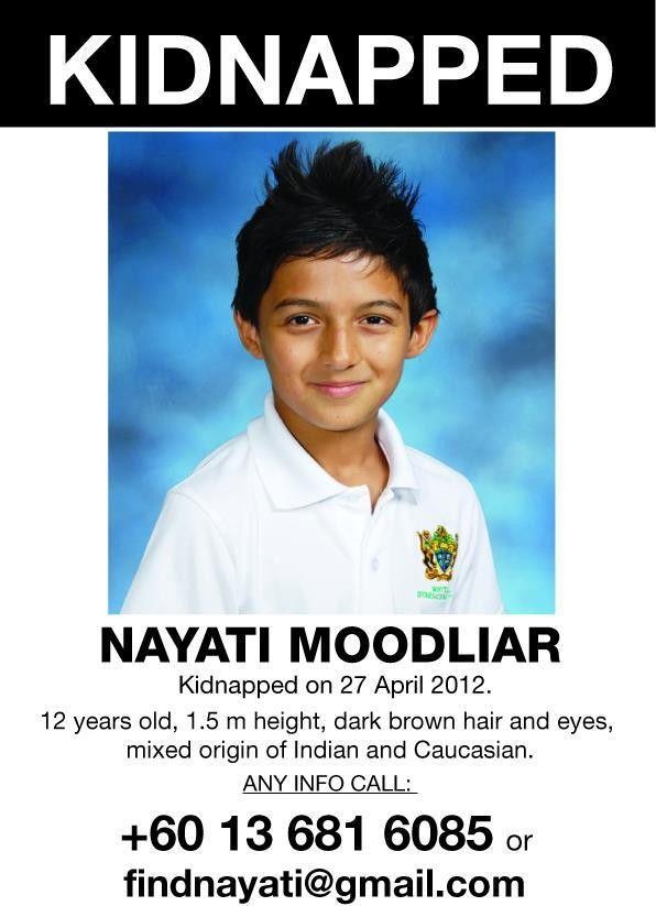 Kidnapped Nayati Moodliar found!